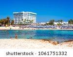 ayia napa  cyprus   august 18 ... | Shutterstock . vector #1061751332