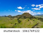 four of nine sister peaks in... | Shutterstock . vector #1061769122