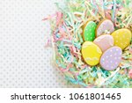 sweets for celebrate easter.... | Shutterstock . vector #1061801465
