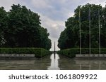 the memorial of eternal glory... | Shutterstock . vector #1061809922
