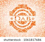 dab abstract emblem ... | Shutterstock .eps vector #1061817686