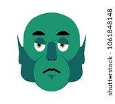 Ogre Sad Emoji. Goblin...