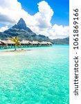 bora bora island  french... | Shutterstock . vector #1061869166