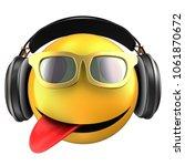 3d illustration of yellow... | Shutterstock . vector #1061870672