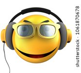 3d illustration of yellow... | Shutterstock . vector #1061870678