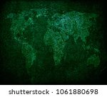 old map background | Shutterstock . vector #1061880698