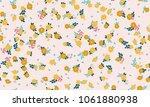 simple cute pattern in small...   Shutterstock .eps vector #1061880938