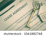 business legal document concept ... | Shutterstock . vector #1061882768