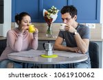 romantic couple. beautiful...   Shutterstock . vector #1061910062