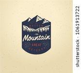 vector vintage hand draw quote... | Shutterstock .eps vector #1061913722