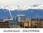 facades of historic buildings... | Shutterstock . vector #1061939606