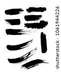 set different grunge brush... | Shutterstock .eps vector #1061944226