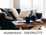 still life details of nordic... | Shutterstock . vector #1061962775