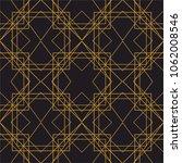 tile gold and black vector...   Shutterstock .eps vector #1062008546