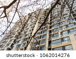 chinese apartment building tall ... | Shutterstock . vector #1062014276