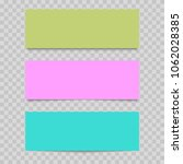 colorful web banner on... | Shutterstock .eps vector #1062028385