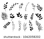 collection of hand drawn... | Shutterstock .eps vector #1062058202