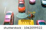 autonomous self driving mode... | Shutterstock . vector #1062059522