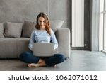 portrait of a cheerful young...   Shutterstock . vector #1062071012