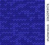 knitting pattern. knitted... | Shutterstock .eps vector #1062093476