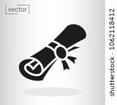 simple vector icon   flat... | Shutterstock .eps vector #1062118412