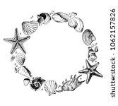 shells   stones is a set of...   Shutterstock .eps vector #1062157826