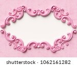 card with ornament decoration.... | Shutterstock . vector #1062161282