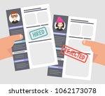 looking for an employee.... | Shutterstock .eps vector #1062173078