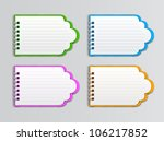 creative collection of open... | Shutterstock .eps vector #106217852