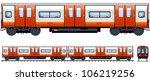 underground train   train  11 . ... | Shutterstock .eps vector #106219256