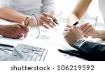 close up of working process at... | Shutterstock . vector #106219592