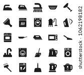 flat vector icon set   scraper... | Shutterstock .eps vector #1062198182