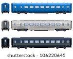 express train coach   train  8 .... | Shutterstock .eps vector #106220645