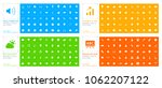 set of 200 universal icons  ... | Shutterstock .eps vector #1062207122