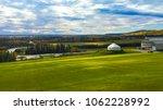 fairbanks's landscape view from ... | Shutterstock . vector #1062228992