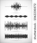 set of noisy vibration figures. ...   Shutterstock .eps vector #1062230372