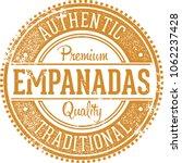 authentic empanadas latin... | Shutterstock .eps vector #1062237428