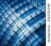 full frame of modern glass... | Shutterstock . vector #1062251948