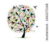 Hummingbird Tree  Sketch For...