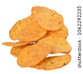 pile of corn chips with spices... | Shutterstock . vector #1062292235