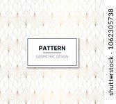 seamless geometric pattern.... | Shutterstock .eps vector #1062305738
