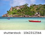 beautiful landscape of the mahe ... | Shutterstock . vector #1062312566