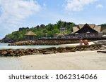 la digue  seychelles   july 4 ... | Shutterstock . vector #1062314066