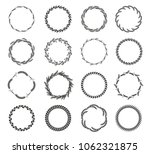 collection of different black...   Shutterstock .eps vector #1062321875