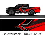 truck graphic. abstract modern... | Shutterstock .eps vector #1062326405