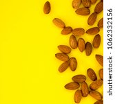 raw natural organic almonds... | Shutterstock . vector #1062332156