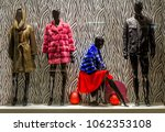 four mannequins in the shop... | Shutterstock . vector #1062353108