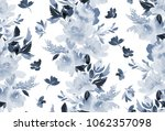 seamless pattern with peonies... | Shutterstock . vector #1062357098