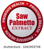 saw palmetto prostate health...   Shutterstock .eps vector #1062403748