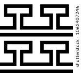 tile greek black and white...   Shutterstock . vector #1062407246